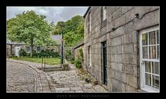 Brig o' Balgownie (Gary Watt) Tags: bridge houses water river scotland aberdeen cobbles bridgeofdon brigobalgownie