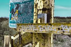 Beware (Buddhhaa) Tags: county miami beware no exploring adventure everglades trespass dade
