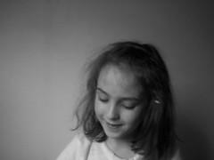 Ayla (brookevvood) Tags: girls blackandwhite messyhair