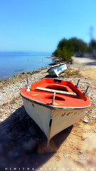 abandoned boats (Love me tender .**..*) Tags: old red sea seascape blur abandoned colors mobile landscape boats greek photography europe flickr dof bokeh earth greece planet attica 2016 dimitra daby   varnava       dimitrakirgiannaki samsunggalaxya5