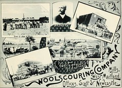 Northern Wool Scouring Mills, Maitland, N.S.W. (maitland.city library) Tags: maitland newsouthwales beautiful sydney fertile west newcastle coalopolis george robertson 1896 university california libraries northern wool scouring mills w b sharp