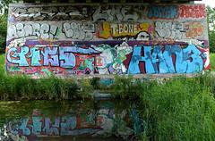 graffiti amsterdam (wojofoto) Tags: holland amsterdam graffiti nederland netherland pfg flevopark amsterdamsebrug wolfgangjosten wojofoto