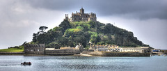 St Michael's Mount, Cornwall (Explored) (Baz Richardson) Tags: wow islands cornwall stmichaelsmount mountsbay explored