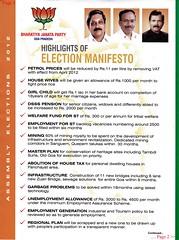 BJP Manifesto (joegoaukextra3) Tags: goa elections manifesto bjp panaji manohar joegoauk parrikar