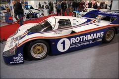 Race Retro 2012 - Porsche 956 Chassis #001 (Si 558) Tags: show park classic sport race c group racing historic retro mans le prototype porsche motor motorsport 2012 dunlop 962 stoneleigh 956 groupc rothmans blaupinkt