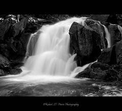 Waterfalls Gatineau Park (ROBERT ST-PIERRE) Tags: park bw white lake black fall water river waterfall nikon rocks quebec ottawa gatineau
