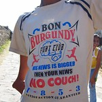 "Bon Burgundy Fight Club His News is Bigger Then Your News No Couch! 1853 Satisfaction Guaranteed <a style=""margin-left:10px; font-size:0.8em;"" href=""http://www.flickr.com/photos/14315427@N00/6788423980/"" target=""_blank"">@flickr</a>"