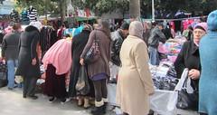 Ladies' market (JNP2014) Tags: market tunisia tunis headscarf hi