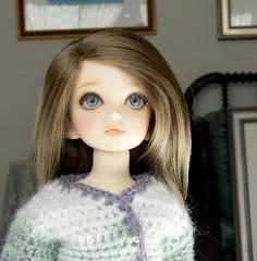 Imogen: Portrait (Mandasmac) Tags: doll lily yo crochet bjd dollfie volks lillie pattons yosd