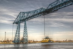 Middlesbrough Transporter Bridge (Rambling0n) Tags: bridge day engineering clear middlesbrough teesside transporterbridge