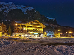 Hotel Bernerhof at Night (jp3g) Tags: winter snow night hotel switzerland lowlight zurich panasonic kandersteg g3 skitrip bernerhof