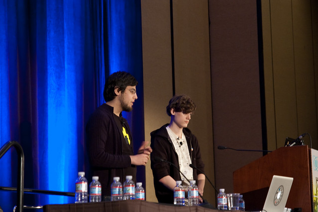Vlambeer's Rami Ismail and Jan Willem Nijman