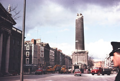 March 8, 1966 (National Library of Ireland on The Commons) Tags: ireland dublin cars march guard explosion 1966 tuesday worth trucks 1960s diggers sixties 8th rubble policeman gpo henrystreet oconnellstreet lorries leinster nationallibraryofireland nelsonspillar gardasochna nelsonpillar corasiompairireann michaelswalker michaelswalkercollection