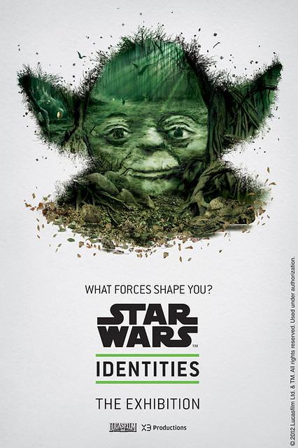 特殊風格的星際大戰角色海報
