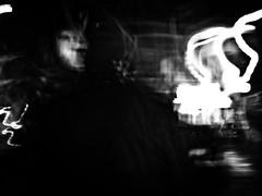 * (Oscar Barrera Photography) Tags: street city people bw man blur blancoynegro calle gente fear streetphotography ciudad social desenfoque abstracto sombras hombre expresin blackwhitephotos skarhache
