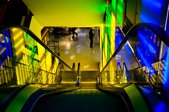 Toys R Us (LaurApple_11) Tags: nyc ny stairs lights escalator toysrus