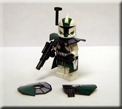Commander Gree 1 (toystorycollectables) Tags: lego gear elite wars custom clone gree pauldron