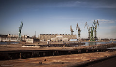 (5y12u3k) Tags: longexposure industrial decay shipyard slipway gdask nd110