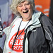 Anne Widdecombe Sainsbury's Sport Relief Mile 2012 - London