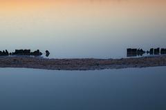 still waters (Minnsha) Tags: abstract water spain andalucia salinas andalusia saltpan