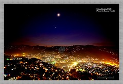 Muzaffarabad Night View (Karrar Haidri) Tags: pakistan mountains kashmir ajk concordians