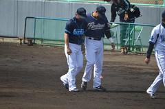 DSC_0662 (mechiko) Tags: 横浜ベイスターズ 120212 渡辺直人 横浜denaベイスターズ 2012春季キャンプ サラサー