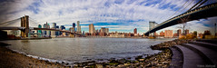 Panorama of Manhattan (New York City, NYC, United states) (Zeeyolq's Pictures...Busy,baby takes a lot of time) Tags: nyc newyorkcity bridge blue panorama usa ny newyork sunshine skyline brooklyn america skyscraper wonderful nice view unitedstates manhattan side gothic cable panoramic brooklynbridge manhattanbridge eastriver newyorkskyline pont 1912 neogothic suspensionbridge bigapple johnroebling magnifique coucherdesoleil nichols panoramique roebling 1883 1901 brooklynbridgepark etatsunis americain tatsunis viewofmanhattan amerique manhattanfrombrooklyn pontsuspendu janescarousel johnaugustusroebling leonmoisseiff moisseiff panoramanewyork pontdebrooklyn pontdemanhattan grossepomme panoramiquenewyork lowermanhattanexpressway interstate478 leonsolomonmoisseiff newyorksunshine picturesnewyork vuedemanhattan yoannjezequel interstate178 othnielfosternichols pontdemana viewofmanhattanbridge vuedupontdemanhattan coucherdesoleilnewyork panonewyork imagesnewyork manhattanfrombrooklynside