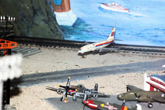 Flying in a Big Airliner (When lost in.....) Tags: railroad rural model corn iowa choo diorama touristattractions modelrailroads centraliowa trainlandusa trainmuseums placesneari80
