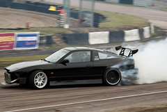 Good Old Drifting (Simon Didmon) Tags: nikon nissan hill drifting trackday lydden d3000