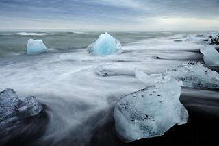 Jokulsarlon icebergs, Iceland
