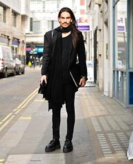 Street Style (ajbringas) Tags: guy london cool trendy streetstyle tendences totalblack