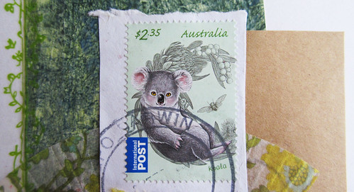 Pretty stamp from Australia