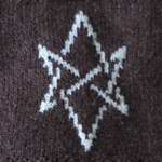 Hexagram (The Erssie Knits Collection) Tags: chart motif square knitting symbol witch egyptian wicca throw pagan aegishjalmur helmofawe craftegyptianknittingmotifsquarethrowhelmofaweaegishjalmurchartsymbolpaganwiccawitchtiny