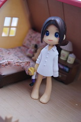 Goodnight! (Mademoisellelulu) Tags: cute toy sleep plastic figure pinkyst adayinthelifeof nightnight