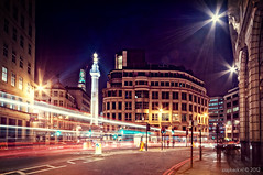 City Lights / Gracechurch St / Monument / London (zzapback) Tags: street city uk england urban london robert monument st de big rotterdam nikon long exposure fotografie united capital sigma kingdom le citylights shard 1224mm stad dg engeland londen straat gracechurch voogd vormgeving eastcheap grafische hsm hoofdstad koninkrijk verenigd d700 bergselaan liskwartier theshard f45f56 zzapback zzapbacknl robdevoogd stayawakeenjoyyourday