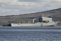 RFA Mounts Bay L3008 (corax71) Tags: uk bay clyde greenock mod marine war ship exercise military ministry navy royal craft class lsd landing maritime esplanade warrior 121 shipping naval landingcraft defence joint nato warship firth ministryofdefence firthofclyde rfamountsbay l3008 mountsbay bayclass royalfleetauxiliary lsda ukarmedforces landingshipdock ukmilitary ukforces jointwarrior exercisejointwarrior greenockesplanade rfamountsbayl3008 bayclassauxiliarylandingshipdock jointwarrior121 bayclasslandingshipdock royalfleetauxiliarymountsbay mountsbayl3008 bayclasslsd bayclasslsda exercisejointwarrior121