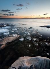 Easy right (- David Olsson -) Tags: winter sunset lake cold ice nature water landscape nikon rocks sweden sigma february 1020mm 1020 vänern 2012 värmland lakescape smallclouds d5000 takene davidolsson hammarösydspets icemotion 2exposuremanualblend ginordicmar12 bitsofice
