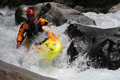 Getting busy Kayaking extreme Japan