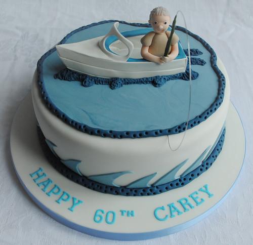 Fishing Boat Birthday Cake A Photo On Flickriver - Fishing boat birthday cake