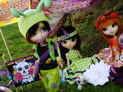 Spring Hippie Meeting  (Craia) Tags: spring doll meeting dal carving planning mao hippie groove pullip custom bohemian flowerpower jun seki cariocas mymelody isul obitsu ddalgi taeyang pullipes