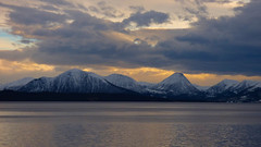 Evening light on the Romsdalsfjord (GillWilson) Tags: norway molde hurtigruten romsdalsfjord
