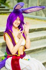 Liara's Easter Day (padregeek) Tags: cosplay carbine wildstar liara ncsoft