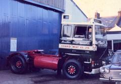 Volvo F10 (21c101) Tags: volvo chard somerset exeter brookebond chardmeatcoltd f10 1979 bonelessmeatspecialists devon georgetancock michelinmap austin3litre f1017