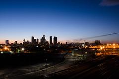 DSC_0134 (bherrero13) Tags: california longexposure nightphotography sunset sky skyline night skyscraper buildings lights la losangeles nikon downtown skyscrapers dusk socal citylights downtownla bluehour southerncalifornia downtownlosangeles d5100 nikond5100