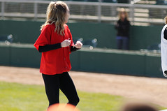 Dance Dance Dance 003 (mwlguide) Tags: people nikon baseball michigan may lansing staff crew leagues d300 2016 midwestleague cedarrapidskernels lansinglugnuts 3121 nikond300 20160503kernelslugnutsd300raw6143121