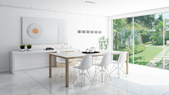 SALA JANTAR - DIA (domcio ferreira) Tags: art arquitetura cores design 3d arte interiores decorao quadros projetos telas maquetes