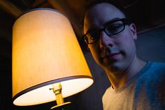 I love lamp (justinlangston336) Tags: selfportrait lamp ilovelamp werehere withalamp