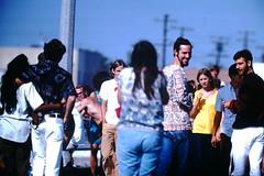9-20-1969--Huntington Beach Calif (8) (foundslides) Tags: pictures ocean ca usa 1969 beach found photography coast photo surf kodak surfer picture surfing slidefilm 1960s kodachrome slides foundslides califronia transparencies srufers irmalouiserudd johnhrudd