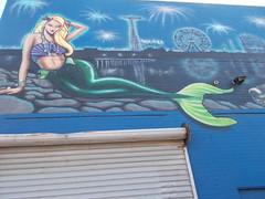 DSCN1835 (7beachbum) Tags: newyorkcity streetart newyork brooklyn coneyisland mural mermaid coneyislandbrooklyn brooklynnewyork