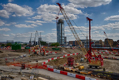 Docklands May 2016 (23 of 31) (johnlinford) Tags: london canon construction poplar docklands canarywharf canonefs1022 woodwharf canoneos7d